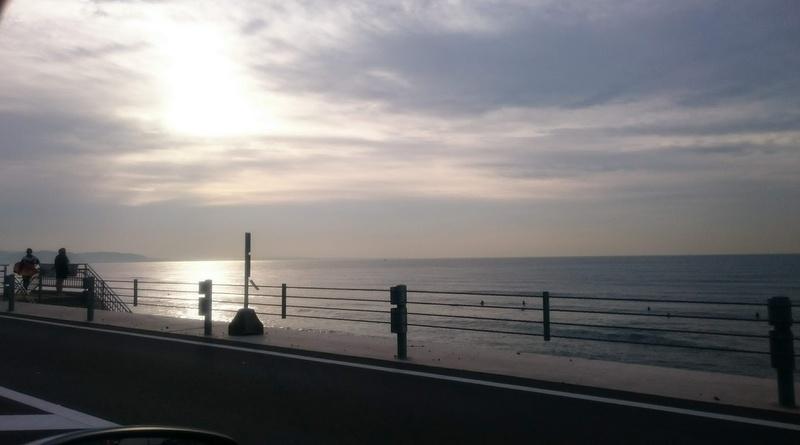 冬の海が好き!